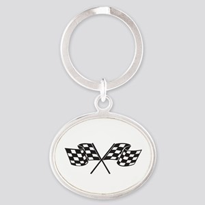 Checkered Flag, Race, Racing, Motorsports Keychain