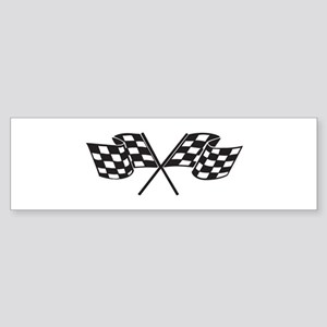 Checkered Flag, Race, Racing, Motorsports Bumper S