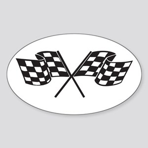 Checkered Flag, Race, Racing, Motorsports Sticker
