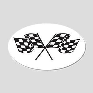 Checkered Flag, Race, Racing, Motorsports Wall Dec