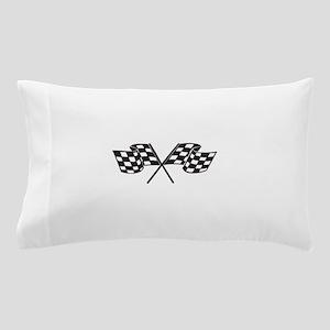 Checkered Flag, Race, Racing, Motorsports Pillow C