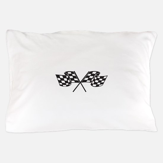 Checkered Flag, Race, Racing, Motorsports Pillow C