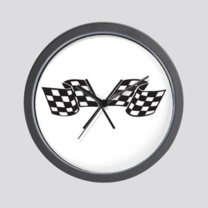 Checkered Flag, Race, Racing, Motorsports Wall Clo