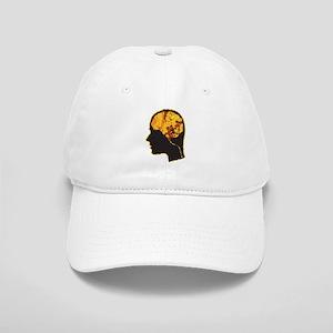 Brain, Mind, Intellect, Intelligence Baseball Cap