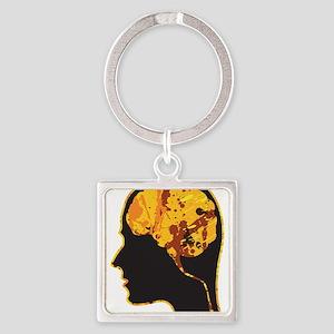 Brain, Mind, Intellect, Intelligence Keychains