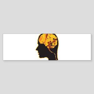Brain, Mind, Intellect, Intelligence Bumper Sticke