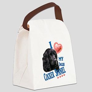cockerspaniel2 Canvas Lunch Bag