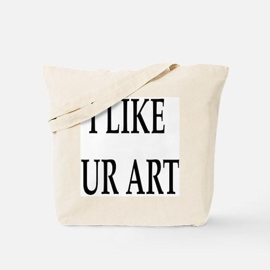 Ur Art (Front) Tote Bag