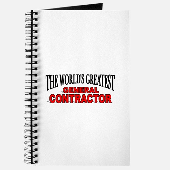 """""""The World's Greatest General Contractor"""" Journal"""