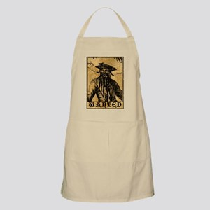 Blackbeard Wanted Poster Apron