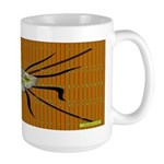 Tropic Bamboo Decor Large Mug