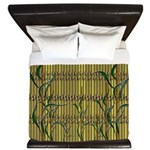 Tropic Bamboo Decor King Duvet