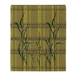 Tropic Bamboo Decor Throw Blanket