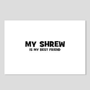 My SHREW is my Best Friend Postcards (Package of 8