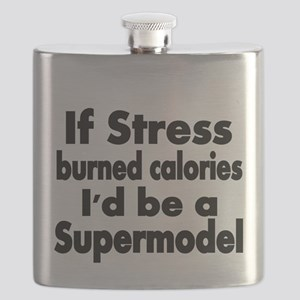 IF STRESS BURNED CALORIES Flask