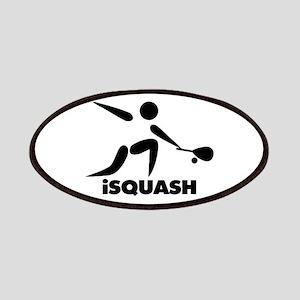 Game Of Squash iSquash Logo Patches