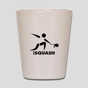Game Of Squash iSquash Logo Shot Glass