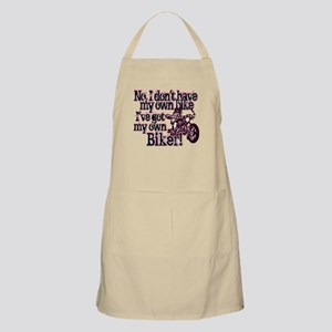 Got My Own Biker Apron