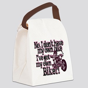 Got My Own Biker Canvas Lunch Bag