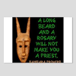 A Long Beard And A Rosary - Bambara Postcards (Pac