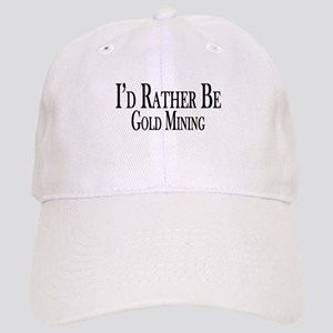 7b0c3be48b0 Gold Mining Hats - CafePress