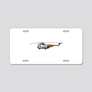H-19 Chickasaw Helicopter Aluminum License Plate
