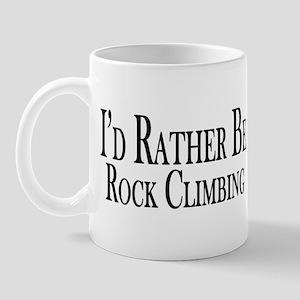 Rather Be Rock Climbing Mug