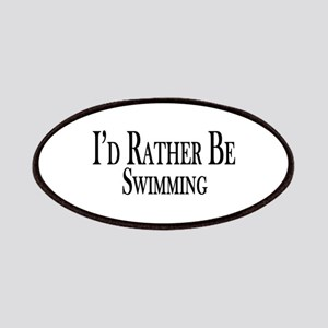 Rather Be Swimming Patches