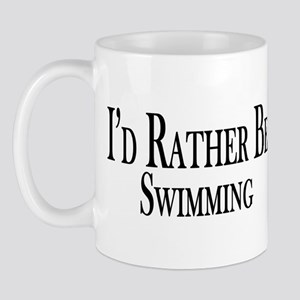 Rather Be Swimming Mug