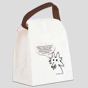 Shelties are not minature Collies Canvas Lunch Bag
