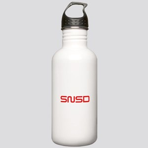 snsd-saved-red Water Bottle