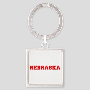 nebraska-fresh-red Keychains