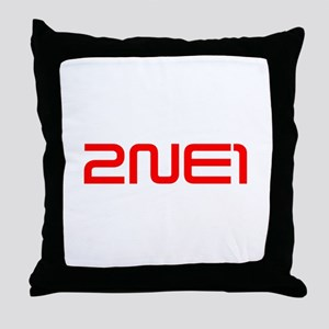 2ne1 Throw Pillow