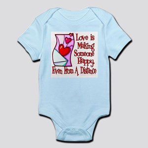 Love Is Making Infant Bodysuit