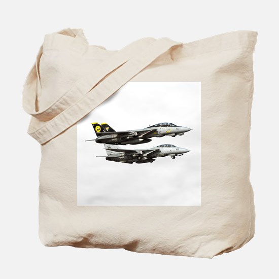 F-14 Tomcat Fighter Tote Bag