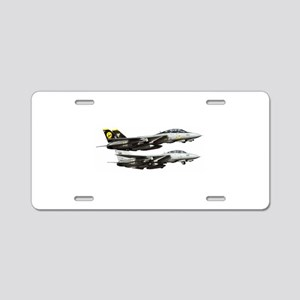 F-14 Tomcat Fighter Aluminum License Plate
