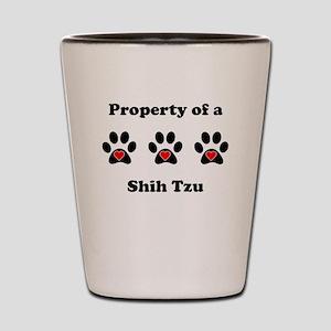 Property Of A Shih Tzu Shot Glass