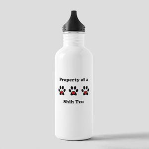 Property Of A Shih Tzu Water Bottle