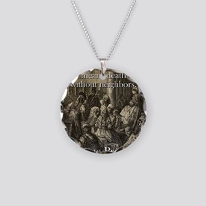 Life Without Friends - Basque Proverb Necklace Cir
