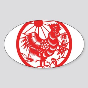 Zodiac, Year of the Rooster Sticker