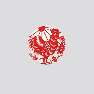 Zodiac, Year of the Rooster Mini Button
