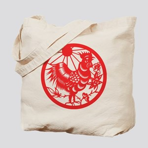 Zodiac, Year of the Rooster Tote Bag