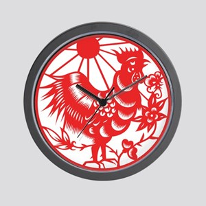Zodiac, Year of the Rooster Wall Clock