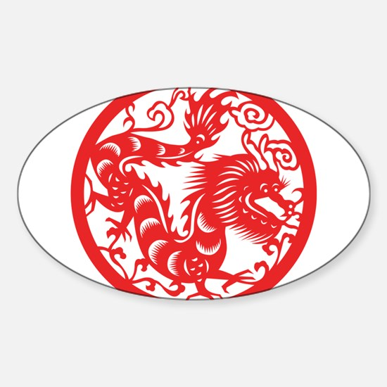 Zodiac, Year of the Dragon Decal