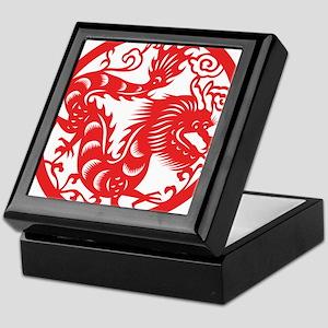 Zodiac, Year of the Dragon Keepsake Box