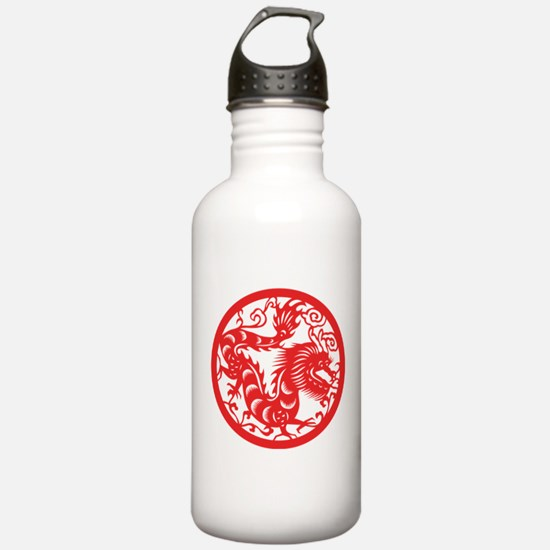 Zodiac, Year of the Dragon Water Bottle