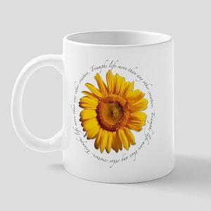 Inspirational Sunflower Mug
