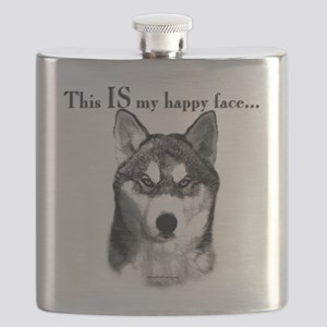 Sibe Happy Face Flask