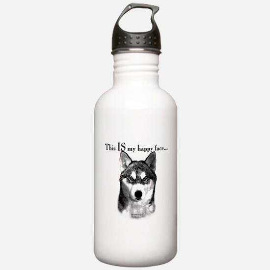 Sibe Happy Face Water Bottle