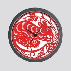 Zodiac, Year of the Mouse Wall Clock